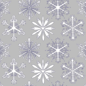 Snowflakes_light gray