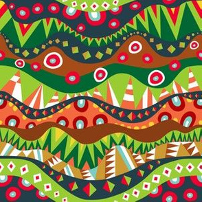 Festival Tribal Pattern