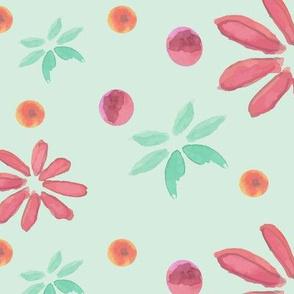 Watercolour Florals - 1