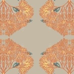 Tree Coral Illuminated