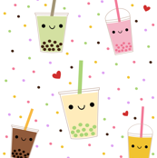 Happy Boba Bubble Tea