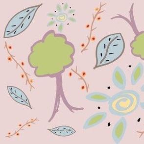Pastel Woodland