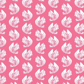 Frederica Squirrel Pink