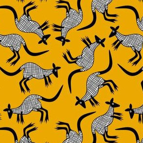 Kangaroo/Mustard SML