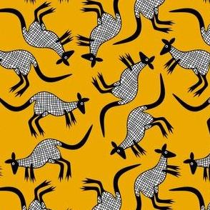 Kangaroo/Mustard