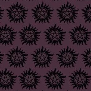 Protective Symbol Purple