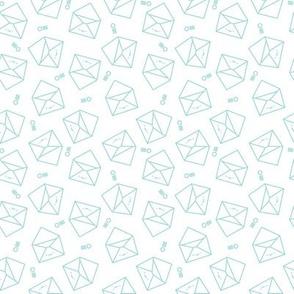Envelopes // Aqua