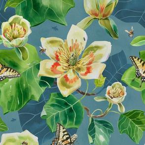Tulip Tree & Swallowtails