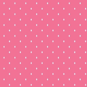 Bright Spring Diamond Dot in Pink