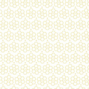 Hexagons // Yellow