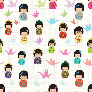 Kokeshi_dolls_and_paper_canes