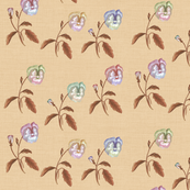 Desert Meadow Floral, Dusty Peach