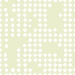 birds sage dots