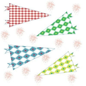 Pennants and Fireworks