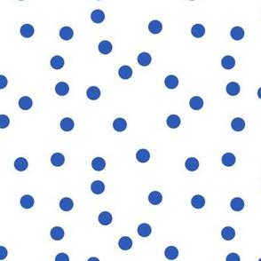 Le Cirque ~ Nelson Blue Polka Dots