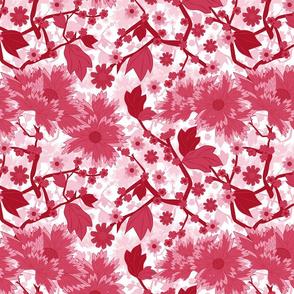Japanese garden red