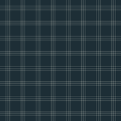 "jacket tartan - navy E - 1"" scale"