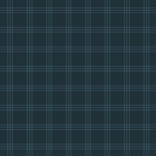 "jacket tartan - navy  - 1"" scale"