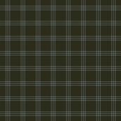 "jacket tartan - olive F - 1"" scale"