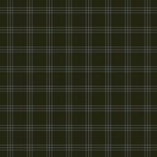 "jacket tartan - olive - 1"" scale"