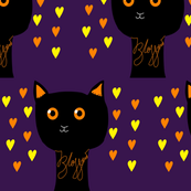 Night Time Owl Kitty - Blossom *Halloween*