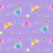 Starry Parasol Kittens