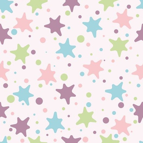 Colorful babu blots