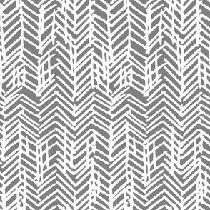sketchy herringbone