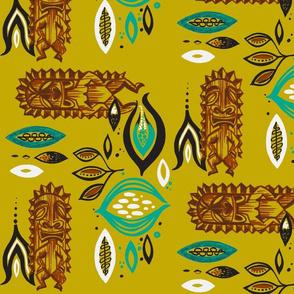 Tiki Podern- gold
