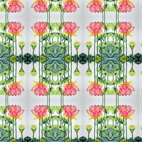 Pink Lotus Om