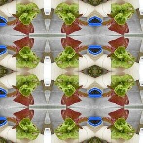 Fresh Lettuce Garden Plaid (Ref. 4000)