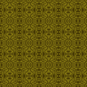 Tribal Mud Cloth Khaki Green