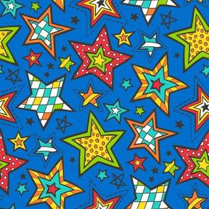 stars christmas geometric