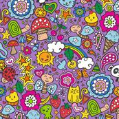 doodle animal world