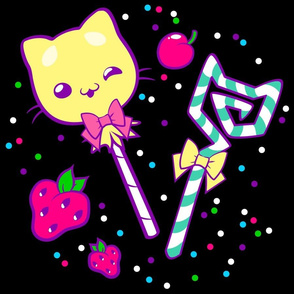 Kawaii Kitty Sprinkles