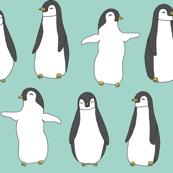 Baby Pingu - Mint by Andrea Lauren