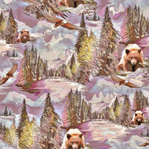 Yosemite Texture Brown