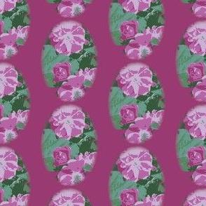 Dark Pink Vintage Rose
