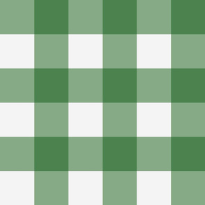 "3"" Gingham Check in Kelly"