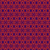 Fish Circles Blue Orange