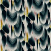 Shibori Wing Spots (indigo)
