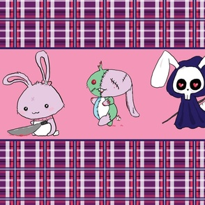 Chibi Sammy's Scary Bunnies