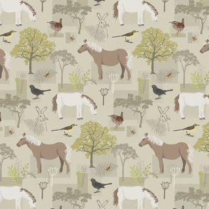 Heathland ponies