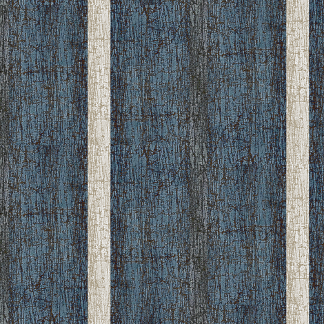 Midnight - crackle stripe, blue, white charcoal