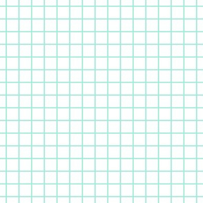 Square Grid - Mint