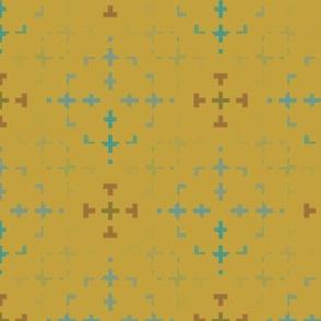 Morse Design (Mustard)
