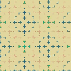 Morse Design (Butter)