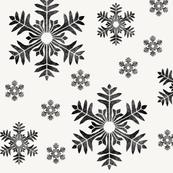 Snowflakes beige