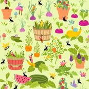 Little Cuties Garden: Green