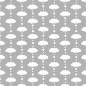 Cloud 9 Mini Grey Clouds & Stars